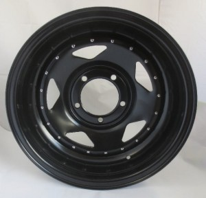 Felga 16x7 5x139,7 ET -20 CB110 BLACK WITH NAILS